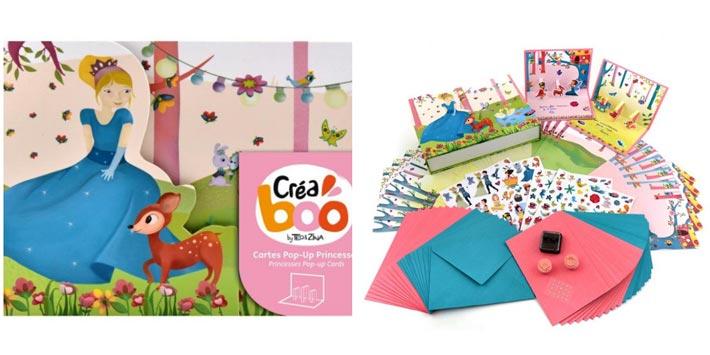 Créaboo _ Ma Boîte à Cartes Princesse