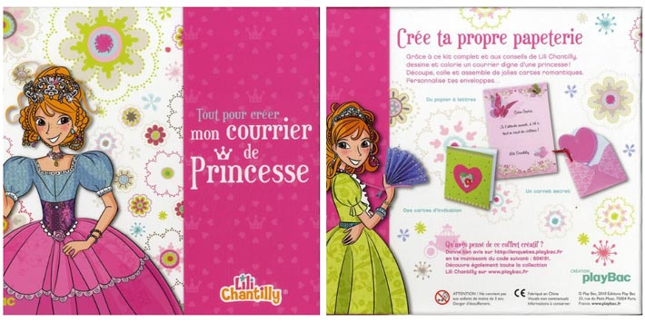 Lili Chantilly : Mon courrier de princesse