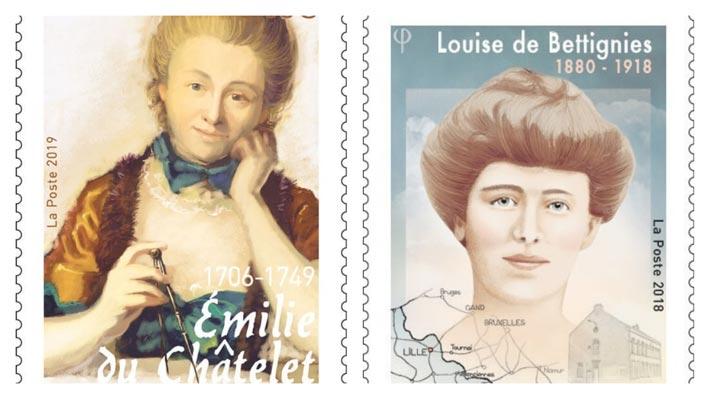 Philatélie, les femmes qui ont marqué l'histoire
