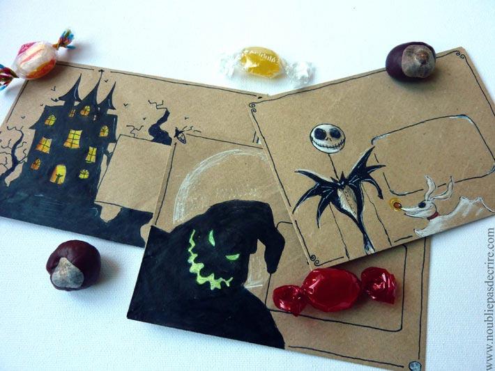 Art Postal pour Halloween 2015