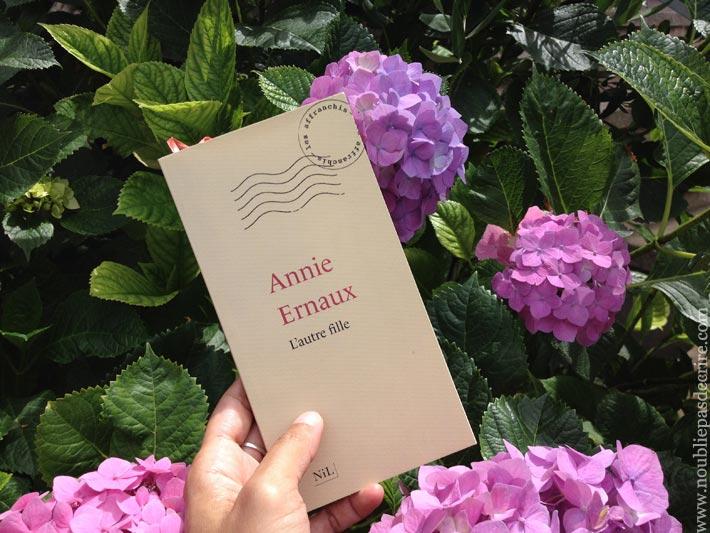 Lecture - L'autre fille de Annie Ernaux