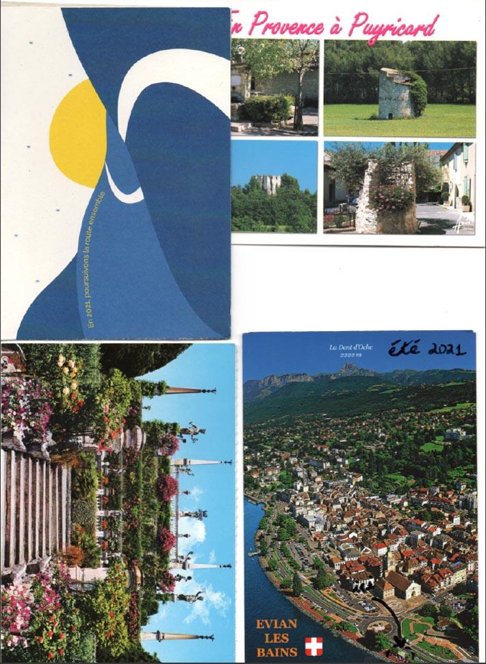 Swap Cartes Postales de vacances 2021