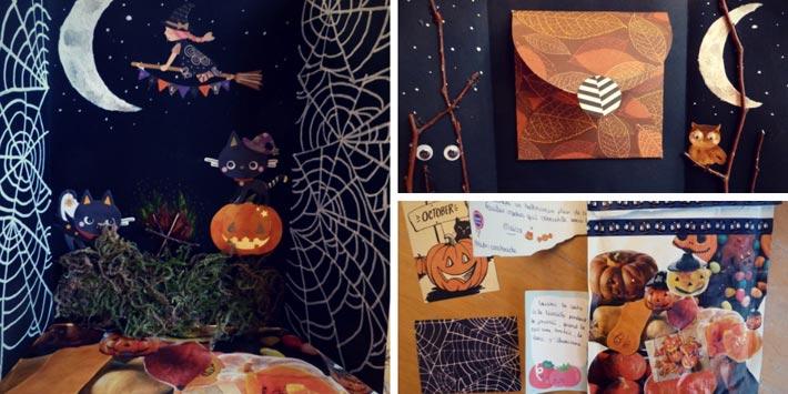 Scrapbooking pour Halloween