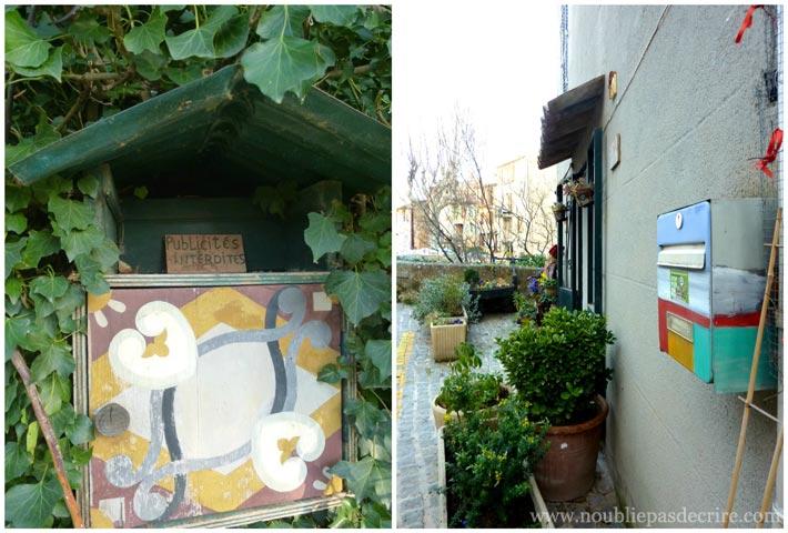 Boîtes aux lettres peintes