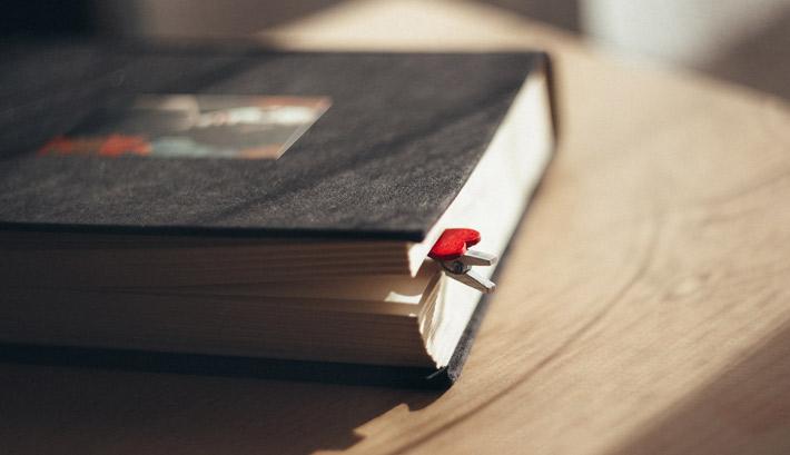 Un carnet des amoureux pour s'écrire des mots doux