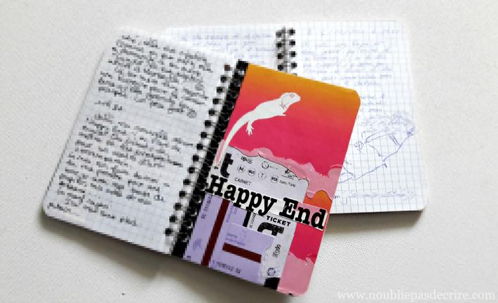 Il y a 14 ans, mon amoureux et moi, on s'échangeait des carnets pour écrire ce qu'on osait pas se dire
