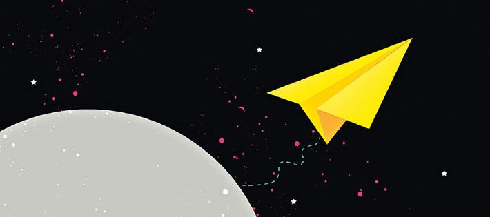 Lecture épistolaire - Une Carte Postale de La lune de Stewart Foster