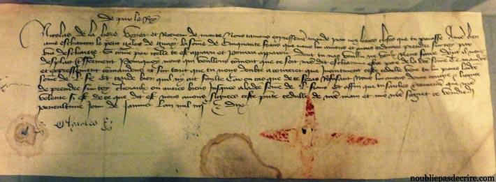Manuscrit de Charles VI