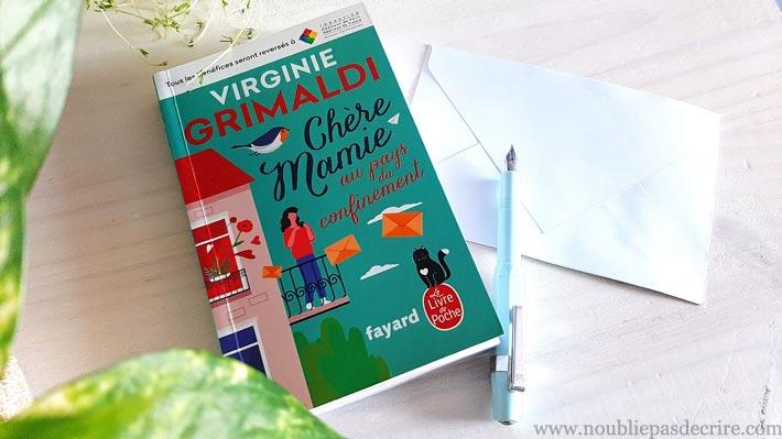 Critique du livre Chère Mamie au pays du confinement de Virginie Grimaldi<br>