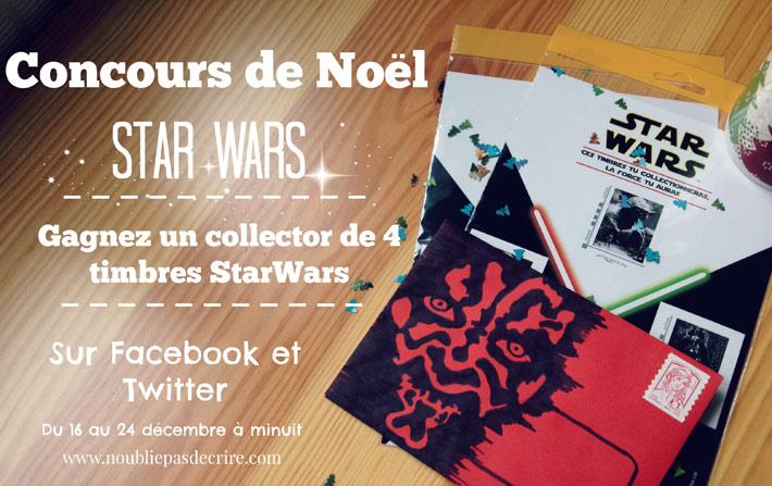 Tentez de gagner un collector de 4 timbres Star Wars