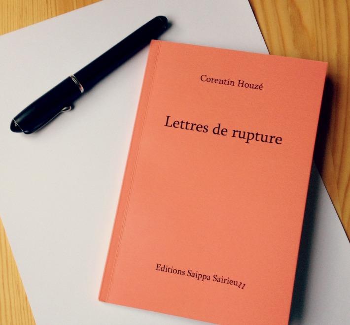 Lettres de Rupture de Corentin Houzé une belle découverte aux Correspondances de Manosque