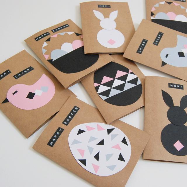 Des cartes Diy pour Pâques