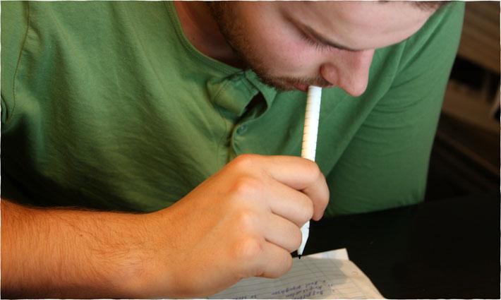 mangeur de stylo