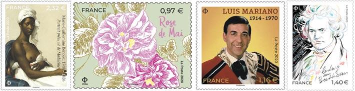 Élection du plus beau timbre poste de 2020