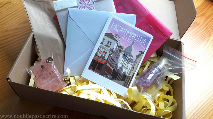 Epistolary Box, coffret correspondance postale