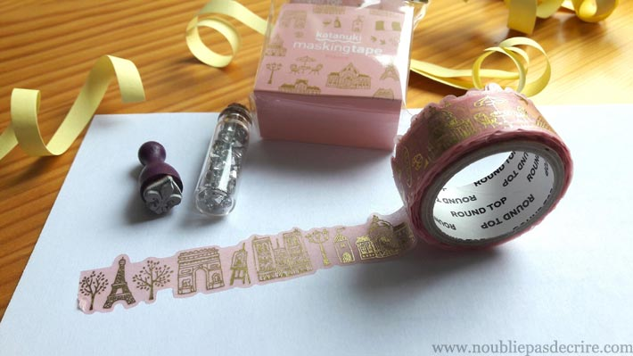 washi tape Paris