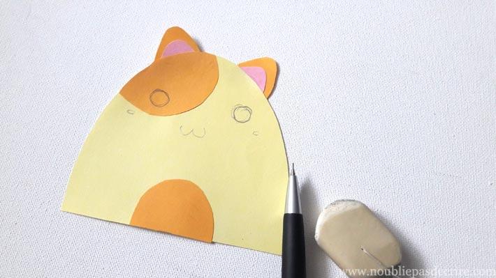 Carte chat, une frimousse à personnaliser
