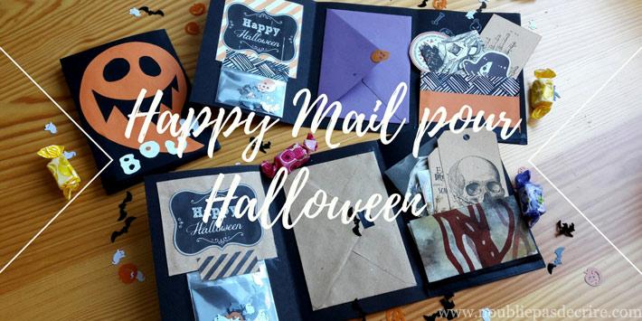 Mon Happy Mail pour Halloween 2017