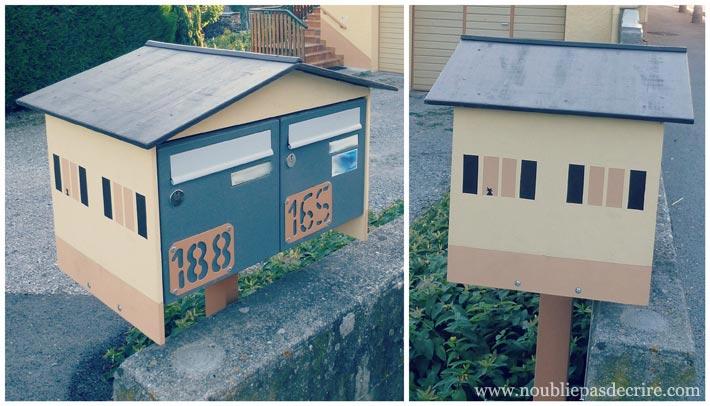 Boite aux Lettres chat à la fenêtre, Haute-Savoie