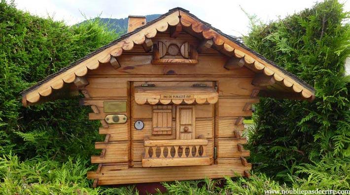 Boite Aux Lettres En Bois Chalet : Collection – s?rie de bo?tes aux lettres de Haute-Savoie