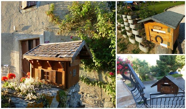 Galerie de belles Boites aux Lettres de Haute-Savoie