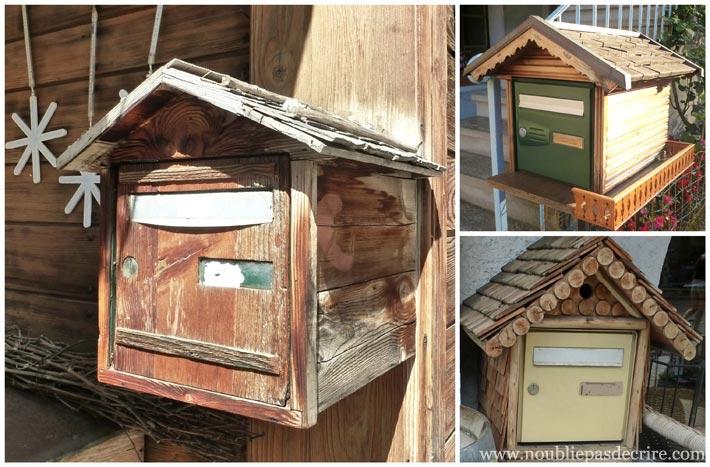 Boites aux Lettres en bois de Haute-Savoie