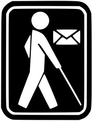 Journée mondiale du braille, le courrier