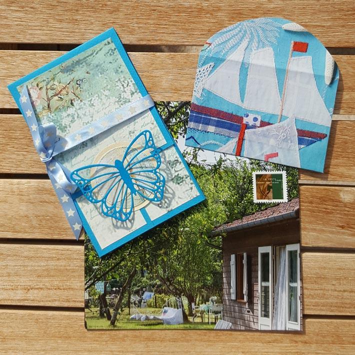 échange Cartes Postales de vacances 2021