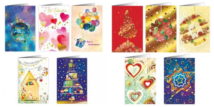 Des cartes de vœux solidaires