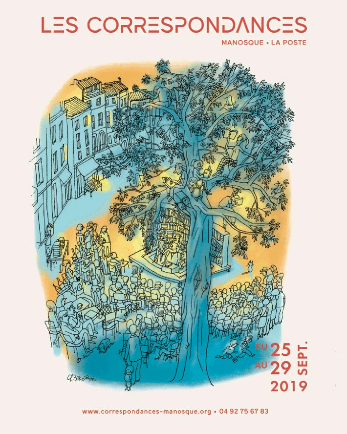 Festival les Correspondances de Manosque du 25 au 29 septembre 2019