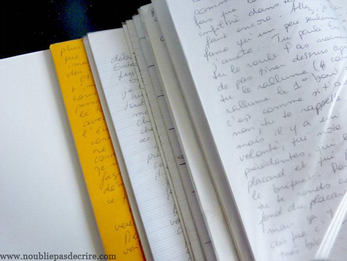 Les lettres de ma correspondante, 20 ans déjà!