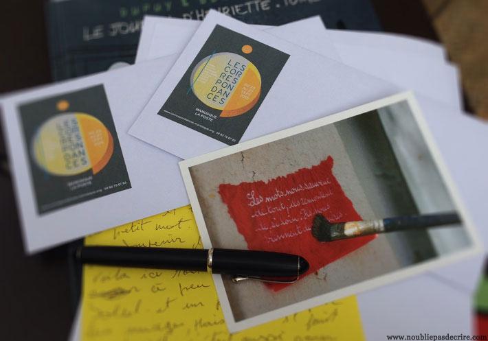 Les Correspondances de Manosque, c'est l'occasion d'envoyer des lettres