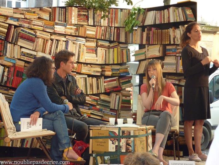 Festival Les Correspondances de Manosque:rencontre littéraire