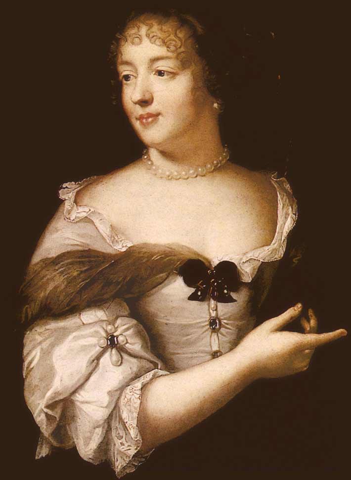 Un portrait de Madame de Sévigné par Claude Lefèbvre