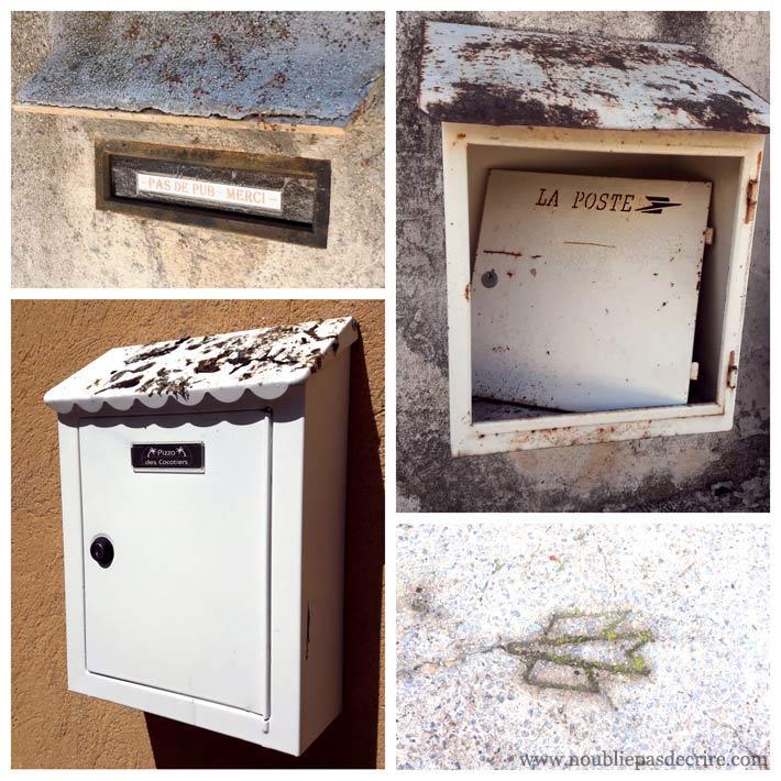 Des boites à lettres malmenées