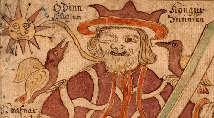 Selon le Hávamál Odin est à l'origine des runes