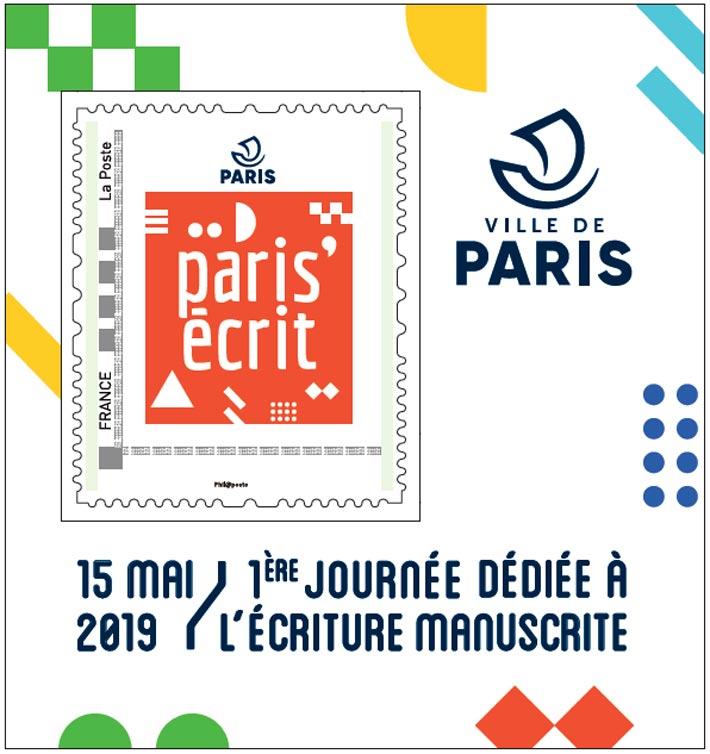 Le timbre de Paris'écrit