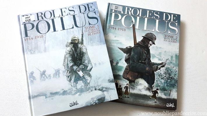Bd Soleil, Paroles de poilus Lettres et carnets du front (1914-1918)