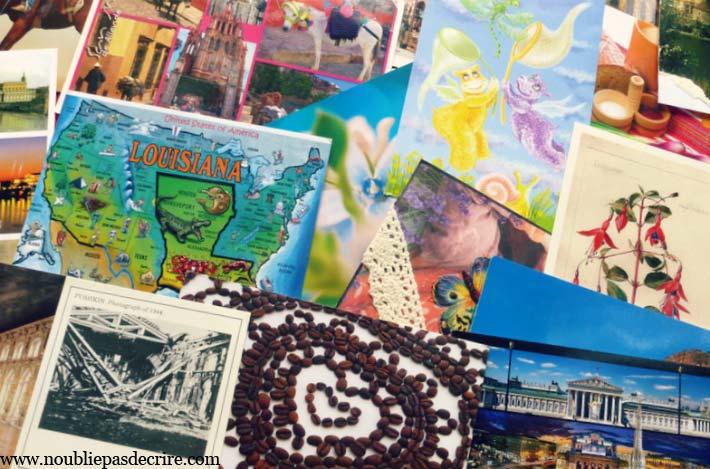 Postcrossing des cartes du monde entier