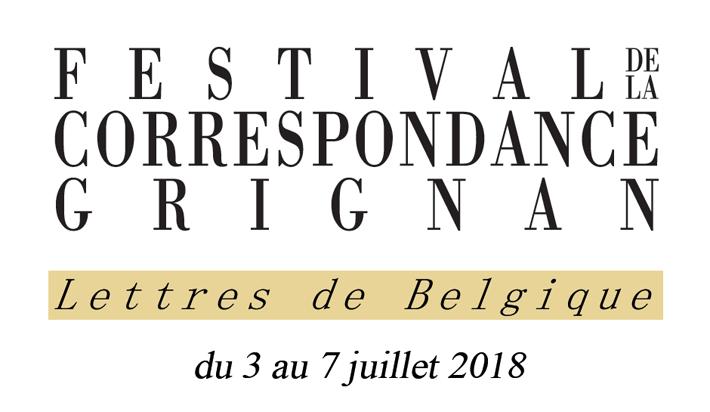 Le programme du Festival de la Correspondance de Grignan est sorti !