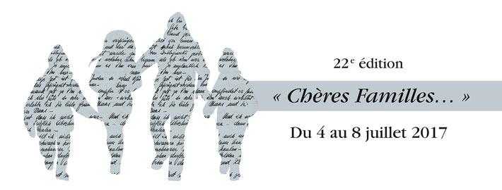 Programme 2017 du Festival de la Correspondance à Grignan