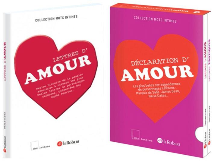 Saint Valentin lettres d'Amour