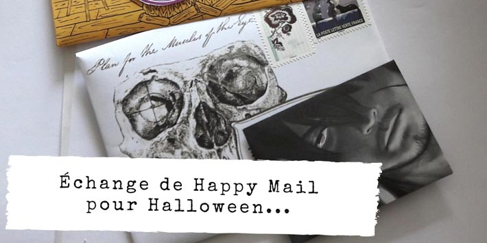 Swap Happy Mail pour Halloween 2018 #scrapbooking