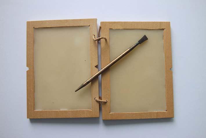 L'ancêtre de l'e-mail, la tablette de cire