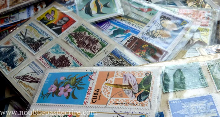 les timbres en francs toujours valides