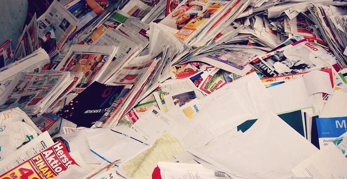 Nous consommons trop de papier