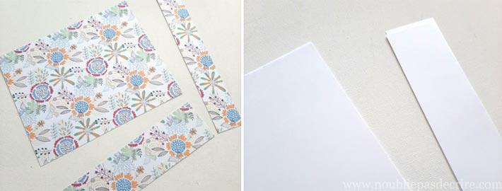 Tuto carnets pour Midori - Découper les pages