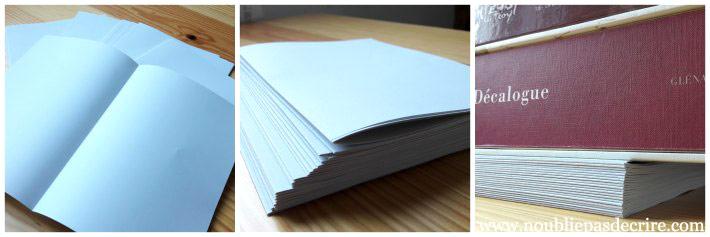Créer soi-même son journal, étape 1