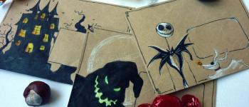 Mail art pour Halloween
