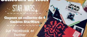Concours Star Wars, des timbres pour Noël !